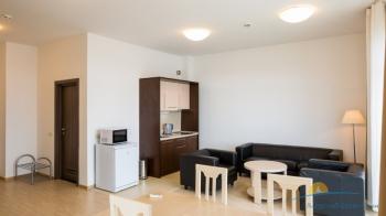 Апартаменты кухонная зона в корпусах Морского квартала.jpg