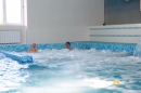 зона джакузи в бассейне