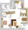 План Апартамента на 1 эт