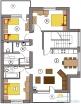 План Апартаментов на 2,3,4 эт,