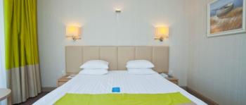 спальня в 2-местном 1-комнатном Стандарт Luxury...jpg