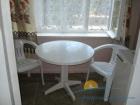 обеденный стол в номере