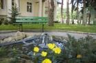 мини-фонтанчик в парке