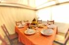 столик для пикника под шатром