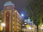 Главное здание (ночью)