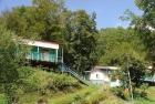 домики на территории