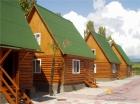 Расположение деревянных домиков