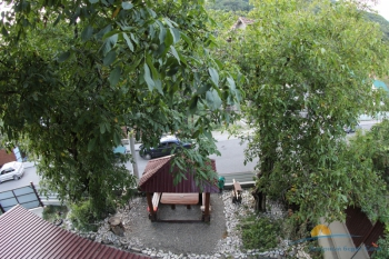 Вид с балкона на беседку .JPG