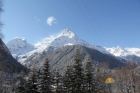 Вид на горы из отеля