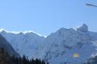 Вид с отеля на горы