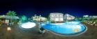 вечерний вид на бассейн