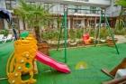 Детская площадка отеля Атлантик