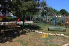 Детская площадка на територии отеля