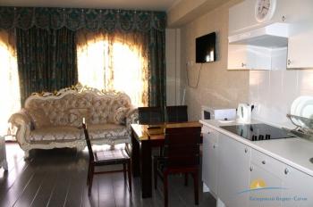 2-мест 1-комн Премиум Апартаменты - зона кухни.JPG