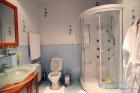 санузел душ в номере люкс