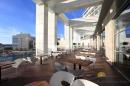 Вид на бассейн с террасы ресторана Grenadine