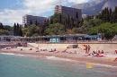 корпуса и пляж