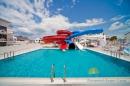 бассейн и горки аквапарка