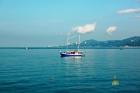 пляж яхта