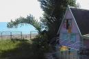домики и море