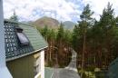Апартамент Эльбрус вид из окна