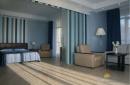 Сюит зона спальни и гостиной