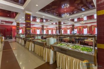 Зал ресторана Афина Швед стол..jpg