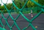 Теннисный корт на территории санатория
