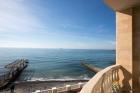 панорама моря с балкона