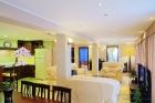 гостиная в номере Апартаменты De Luxe