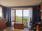спальня в апартаментах De Luxe
